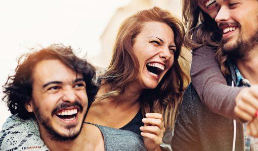 Skratt är viktigt